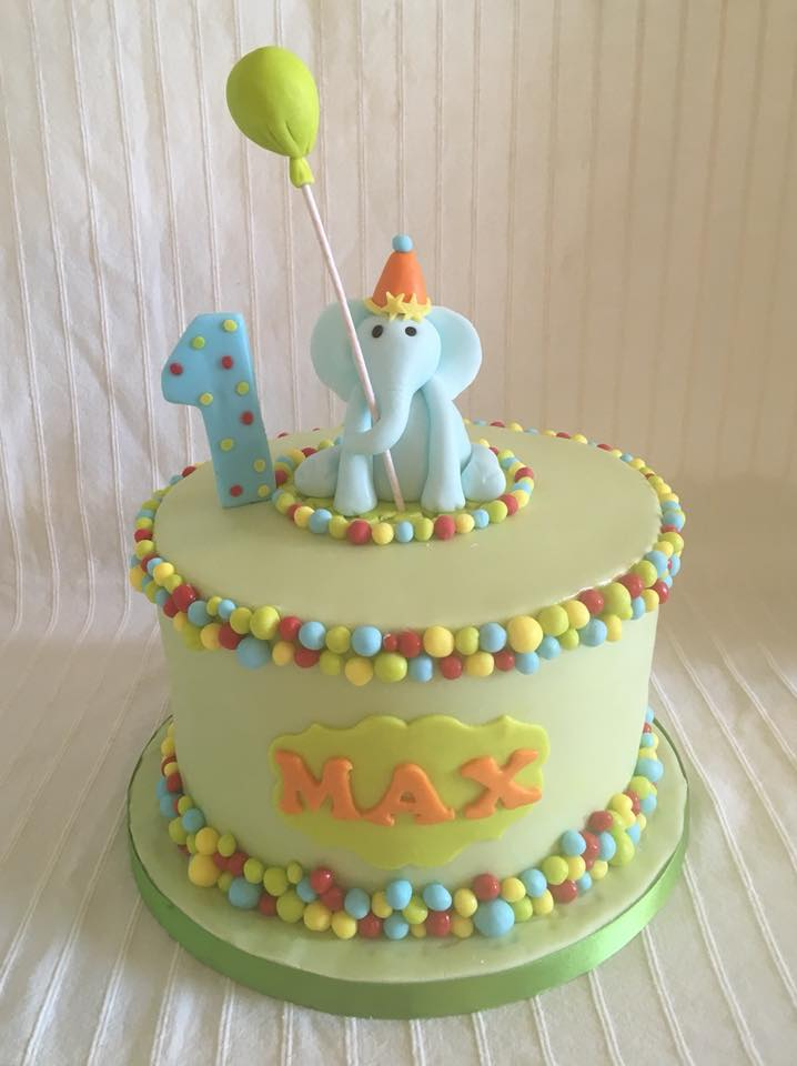 1 Year Old Max Birthday Cake
