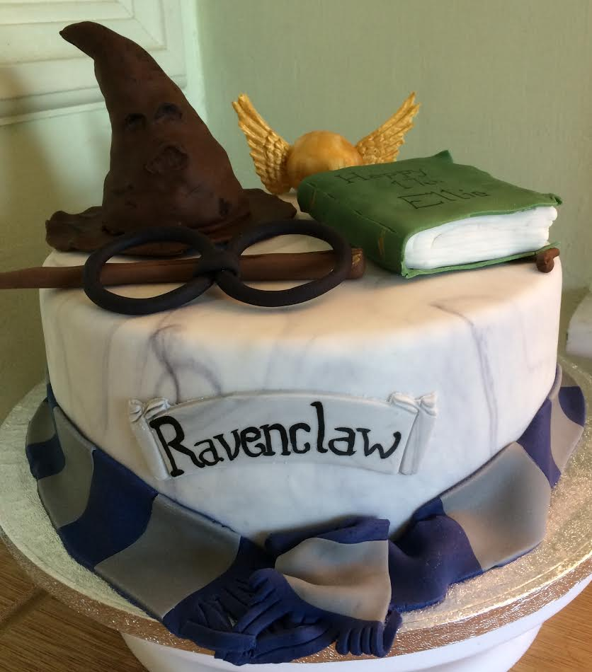12th Birthday Cake for Harry Potter Fan - Village Green Bakes