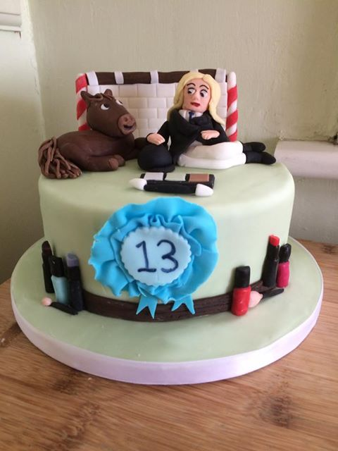13th Birthday Cake for a Horse Fan - Village Green Bakes