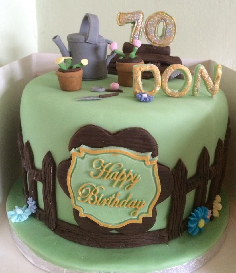 70th Birthday for a Handy Man - Village Green Bakes