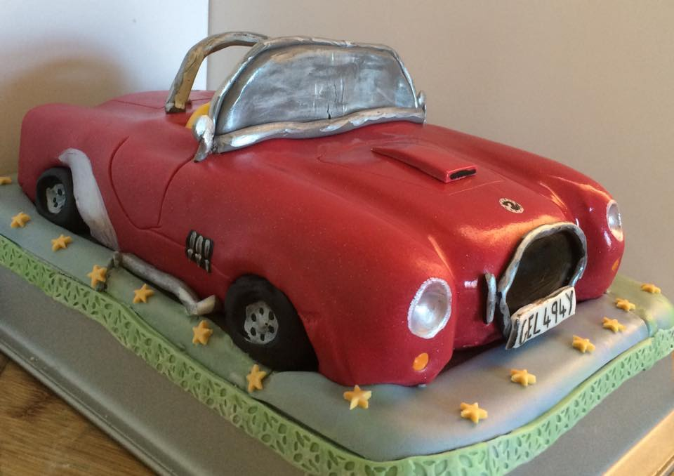 AC Cobra Celebration Cake