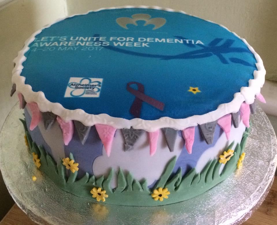 Themed Cake - Dementia Awareness - Village Green Bakes