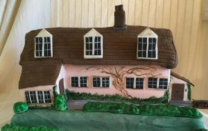 Country Cottage birthday cake