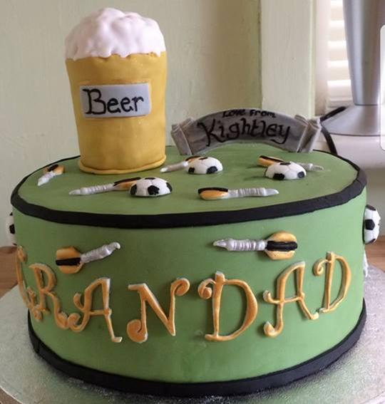 Grandad's Birthday Cake
