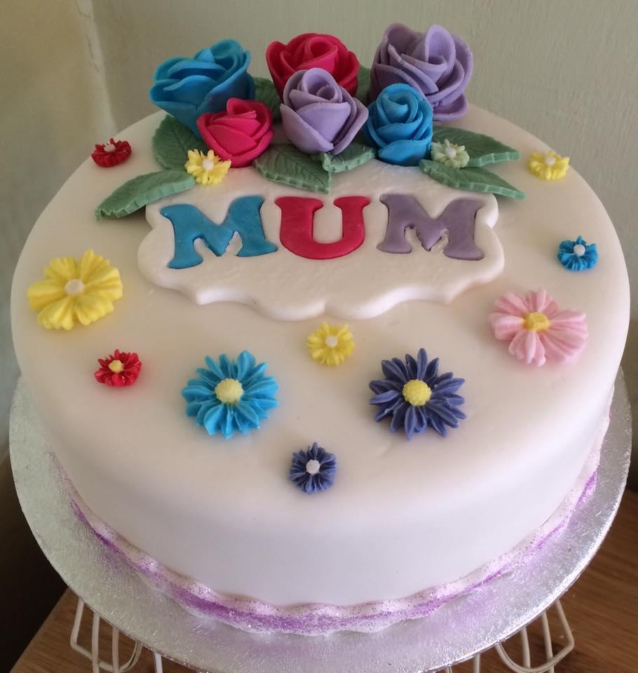 Birthday Cake for Mum - Village Green Bakes