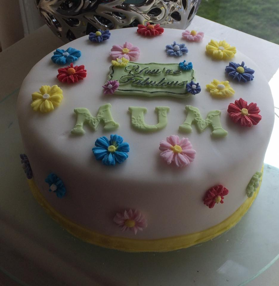 Birthday Cake for Mum - Village Green Bakes