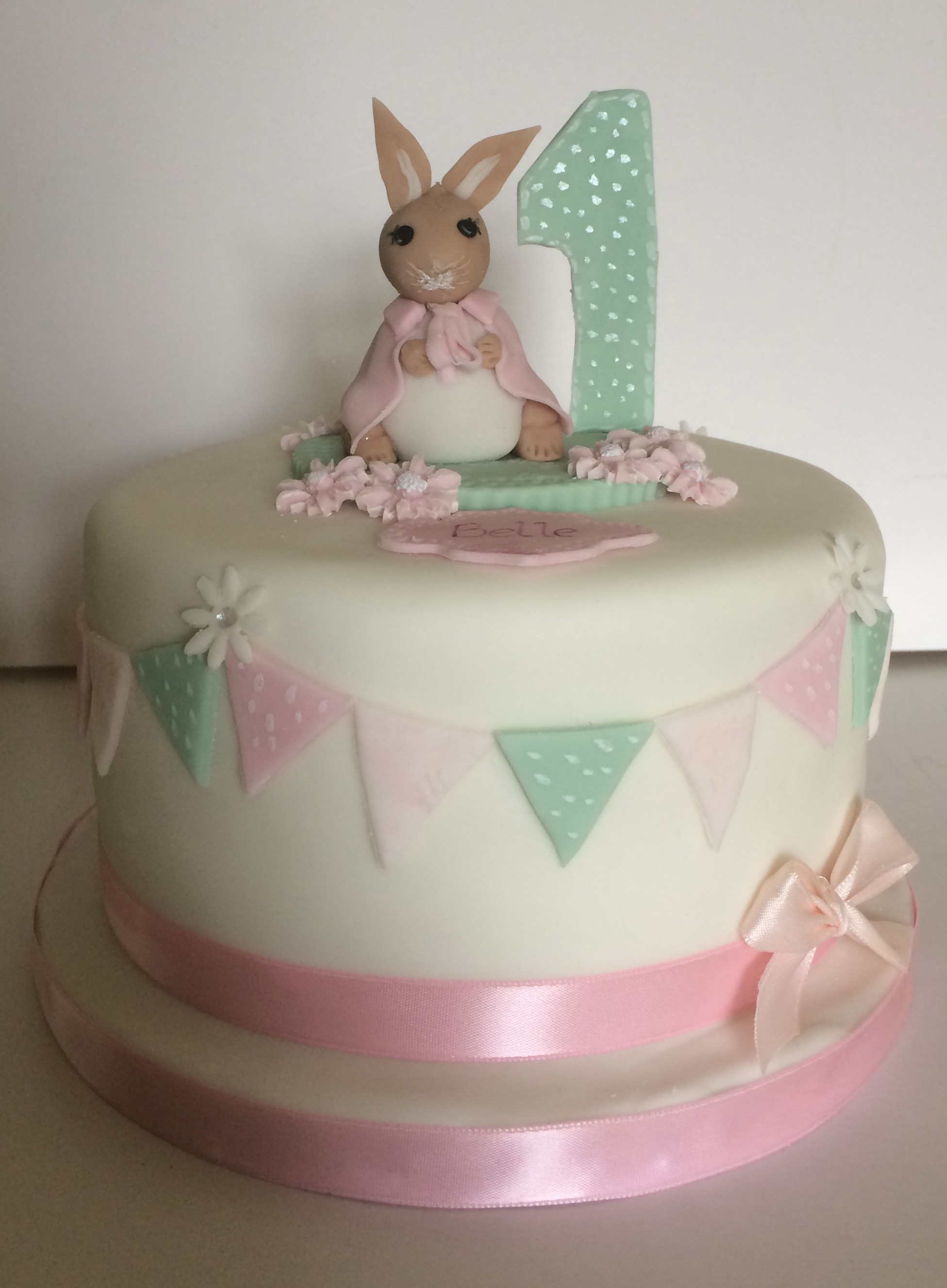 1st Birthday Cake - Village Green Bakes