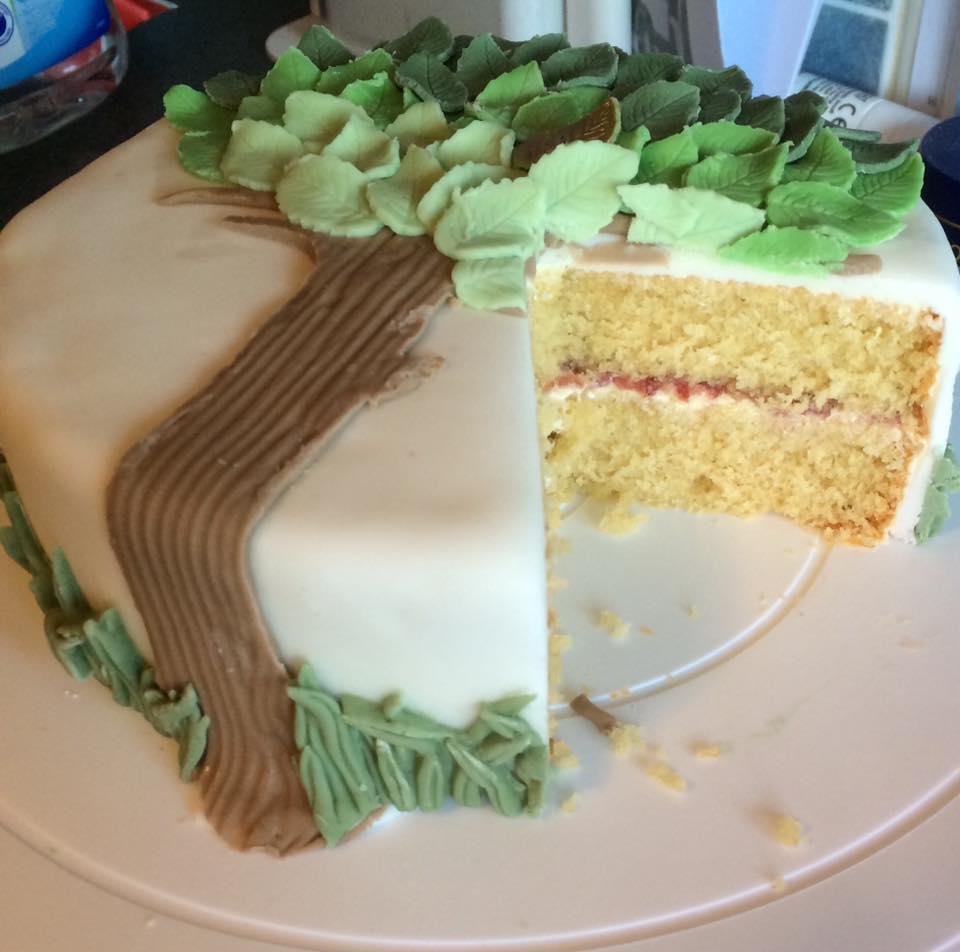 Themed Cake - Tree - Village Green Bakes