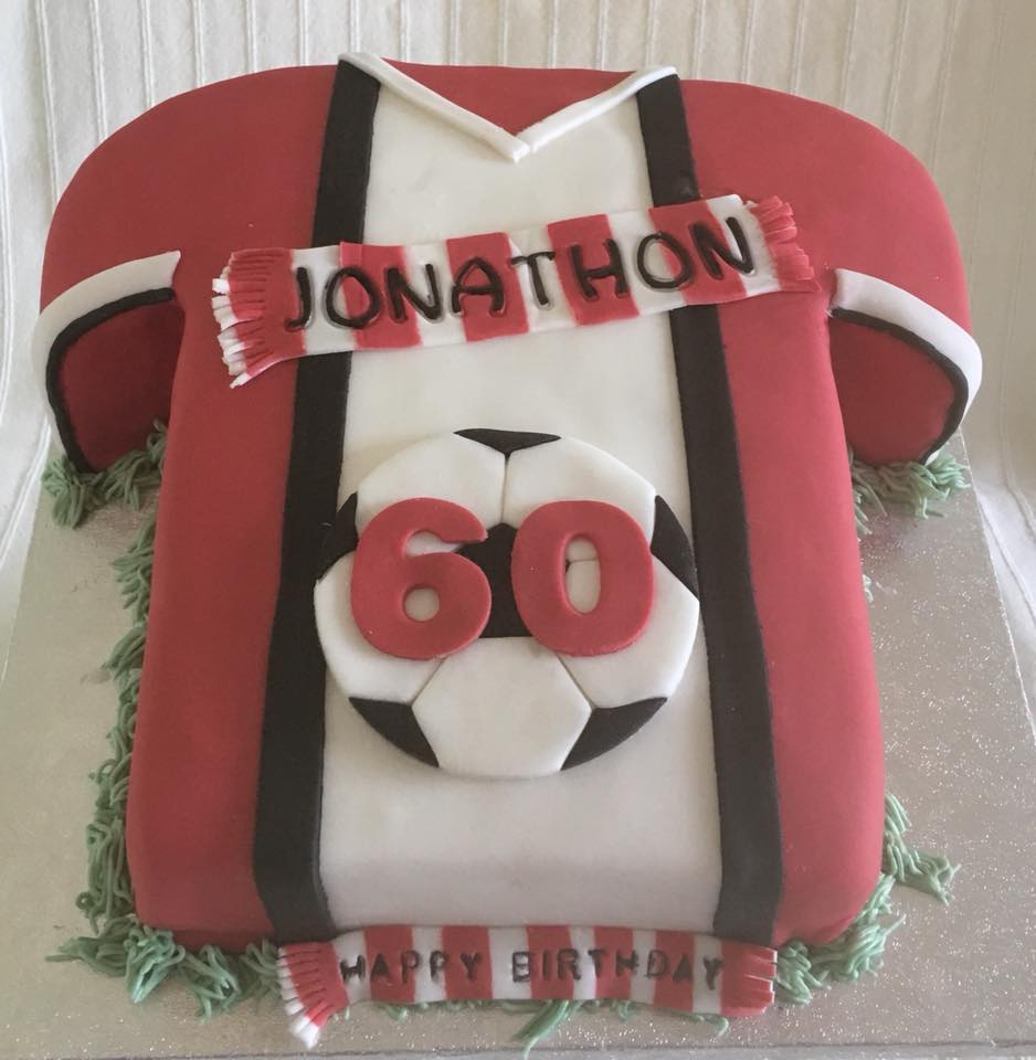 60th Birthday Cake For Saints Fan