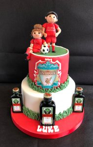 Luke's Liverpool Football Club Birthday Cake