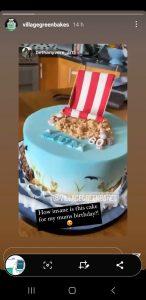 Mum's 60th Birthday Cake