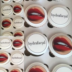 Marketing Cup Cakes For a Facial Launch